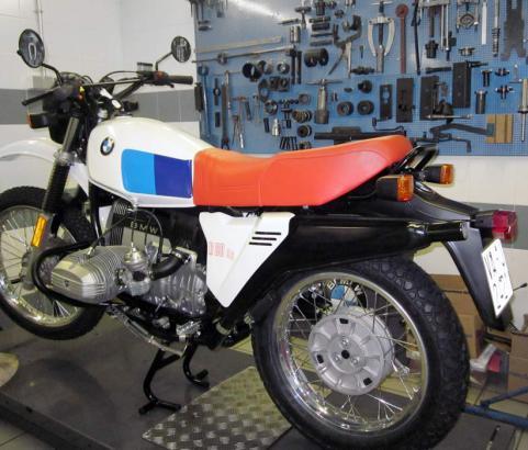 BMW R80 GS 1982